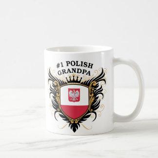 第1ポーランドの祖父 コーヒーマグカップ