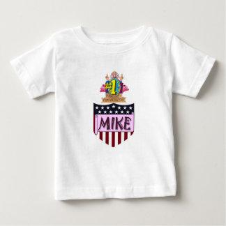 第1マイク ベビーTシャツ