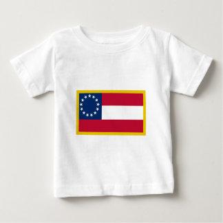 第1南部連合国旗 ベビーTシャツ