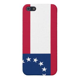 第1国民の南部連合国旗のiphone 4ケース iPhone 5 case
