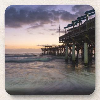 第1夜明けのココア桟橋 コースター