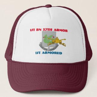 第1大隊第37の装甲第1装甲帽子 キャップ