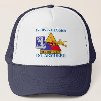 第1大隊第77の装甲第1装甲帽子 キャップ