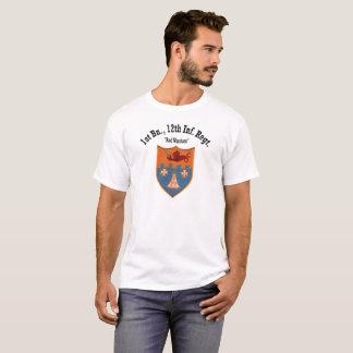 """第1大隊、第12 Infの""""赤い戦士""""の-ロゴ#1 Tシャツ"""