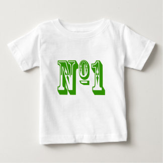 第1子供 ベビーTシャツ