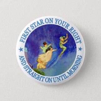 第1朝までのあなたの権利の星、次々に 5.7CM 丸型バッジ