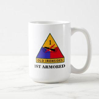 第1機甲師団のマグ コーヒーマグカップ