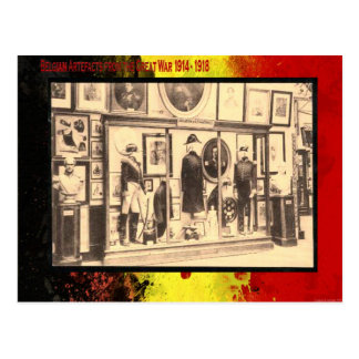 第1次世界大戦、ベルギー博物館、ユニフォーム ポストカード
