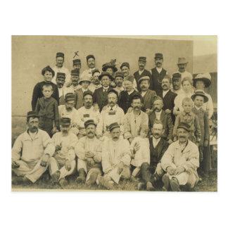 第1次世界大戦、村の写真 ポストカード
