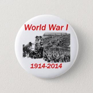 第1次世界大戦(1914-2014年) 5.7CM 丸型バッジ