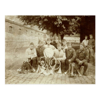 第1次世界大戦、Bandsmen ポストカード