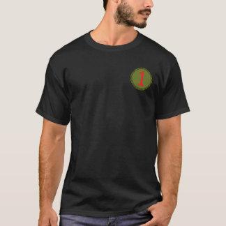 第1歩兵部隊のシールのワイシャツ Tシャツ