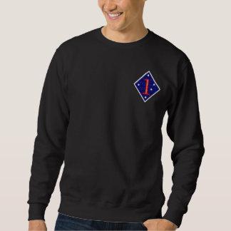 第1海兵師団のスエットシャツ スウェットシャツ