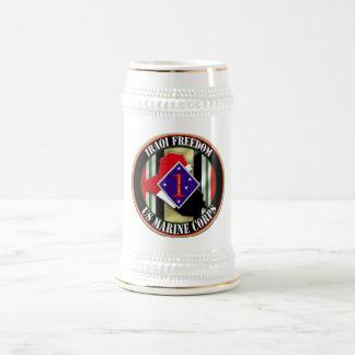 第1海兵師団OIF ビールジョッキ