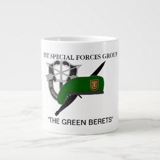 第1特殊部隊のグループのジャンボマグ ジャンボコーヒーマグカップ