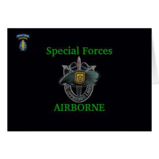 第1特殊部隊はイラクの湾岸戦争の獣医カードを分けます カード