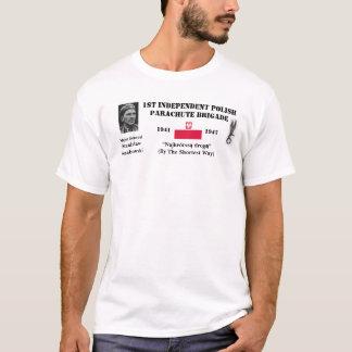 第1独立したパラシュートの組(ポーランド) Tシャツ