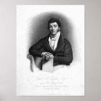 第1男爵St.、エドワードButtenshaw Sugden ポスター