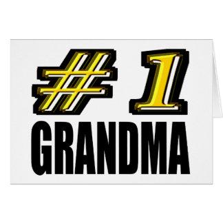 第1祖母 グリーティングカード