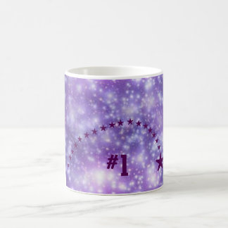 第1紫色の星 コーヒーマグカップ