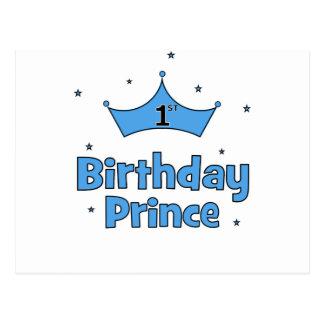 第1誕生日の王子 ポストカード