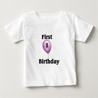 第1誕生日のTシャツ ベビーTシャツ