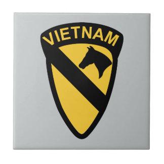 第1騎兵隊部-ベトナム 正方形タイル小