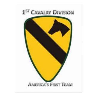 第1騎兵隊部 ポストカード