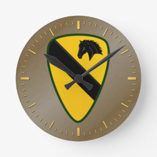 第1騎兵隊部 ラウンド壁時計