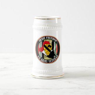 第1騎兵隊部OIF ビールジョッキ