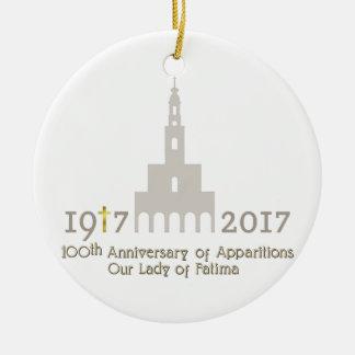 第10亡霊の記念日-ファティマポルトガル セラミックオーナメント