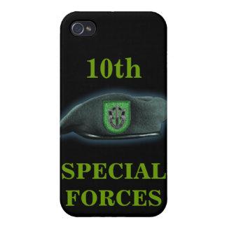 第10特殊部隊の緑色のベレー帽イラクI iPhone 4/4Sケース