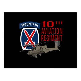 第10航空連隊-アパッシュ ポストカード