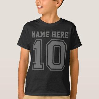 第10誕生日(カスタマイズ可能な子供の名前) Tシャツ