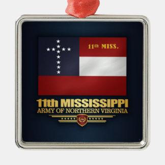 第11ミシシッピーの歩兵 メタルオーナメント