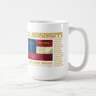 第11ミシシッピーの歩兵(BA2) コーヒーマグカップ
