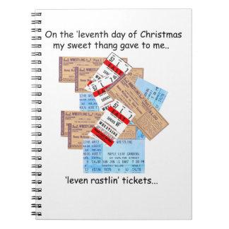 第11日のレッドネックのクリスマス ノートブック