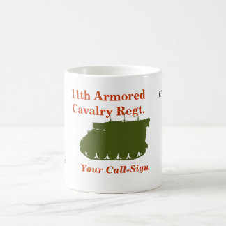 第11機甲偵察部隊M577命令トラックカスタムのマグ コーヒーマグカップ