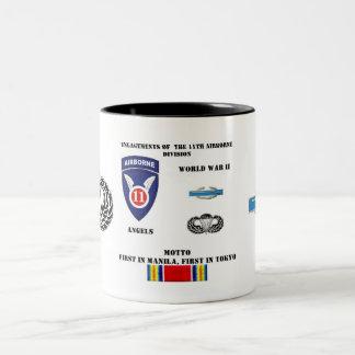 第11空挺師団の婚約 ツートーンマグカップ