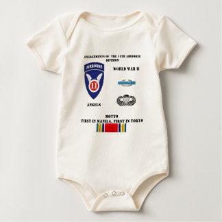 第11空挺師団の婚約 ベビーボディスーツ