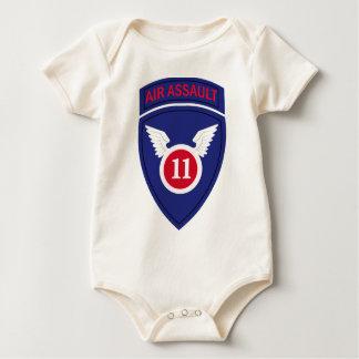 第11空挺師団の空爆 ベビーボディスーツ