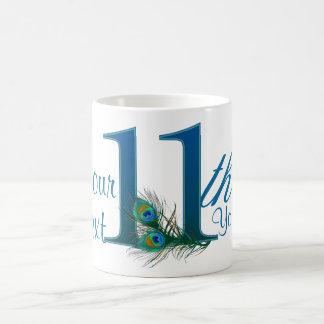 第11/第11 100%年のカスタムで文字デザインなマグ コーヒーマグカップ