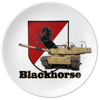 第11 Blackhorseパッチ及びタンクプレート 磁器プレート