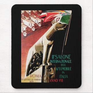 第11 Salone Internazionaleの自動車~ローマ マウスパッド