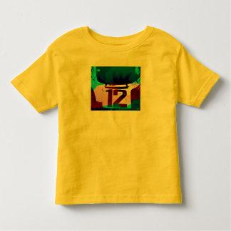 第12の競争 トドラーTシャツ