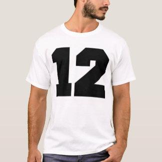第12スポーツ Tシャツ