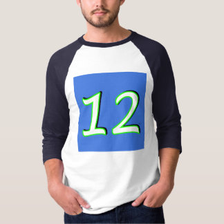 第12人のジャージーのワイシャツ Tシャツ