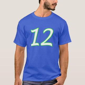 第12人のジャージーのTシャツ Tシャツ