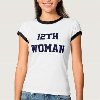 第12女性のTシャツ Tシャツ