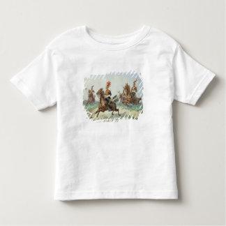 第12王室のな槍騎兵(w/c鉛筆によって高められるウィットに トドラーTシャツ
